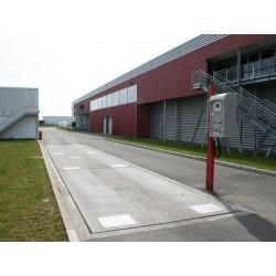 Dzelzbetona platformas auto svari 12m