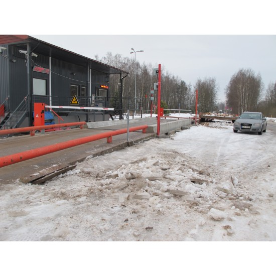 Dzelzbetona platformas auto svari 18m