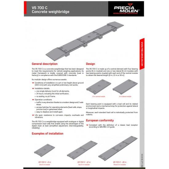 Reinforced Concrete Platform Scales 18m