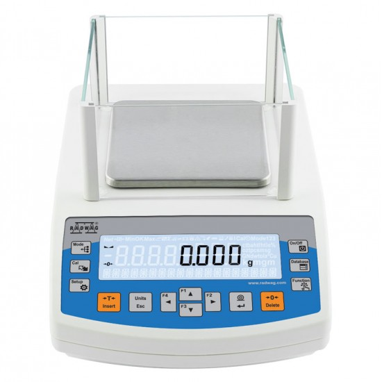 Laboratory scales: Radwag PS.R2 series scales