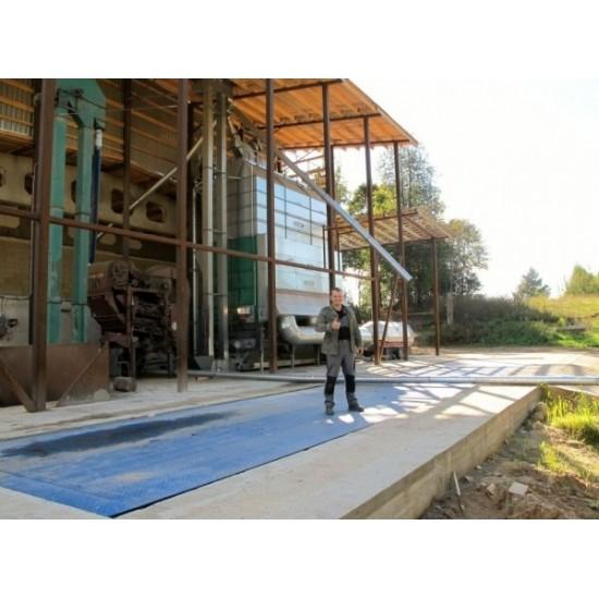 Steel platform truck scales 6m