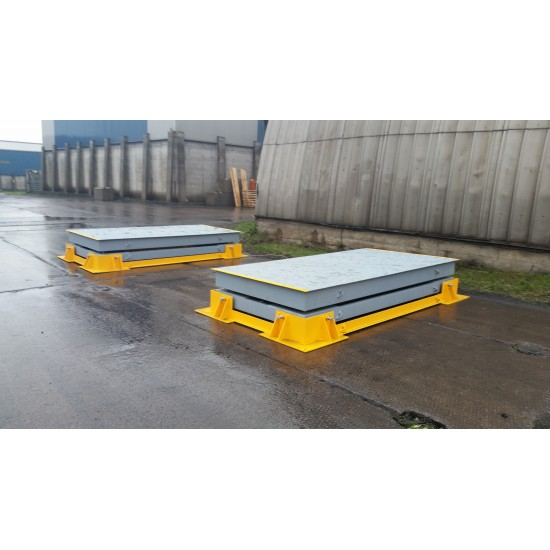 Container weighing scales 1500 x 3000