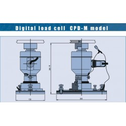 Digital compression load cells  Bilanciai CPD