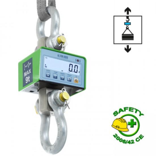 Verified crane scales MCWN 9t