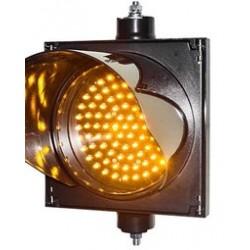 Traffic light 200mm yellow LED