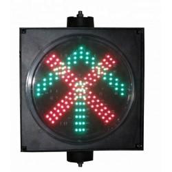 Traffic light 200 mm Arrow - Cross