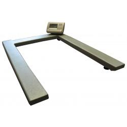 U-veida grīdas svari